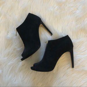 Ann Taylor Heeled Peep Toe Shoes
